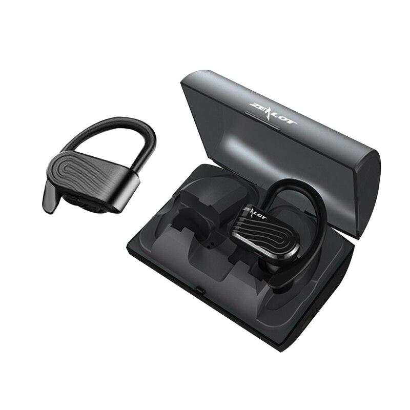 Беспроводная гарнитура H12, спортивные водонепроницаемые стереонаушники-вкладыши с поддержкой Bluetooth 5,0 и защитой от пота