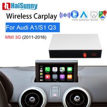 Wireless Apple Carplay For Audi A1 S1 Q3 8u 2011-2016 Support Multimedia IOS Android Auto Google Maps Reverse camera(China)
