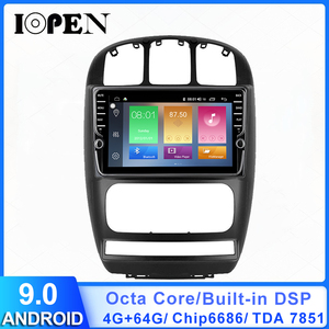 IOPEN android 9.0 For dodge caravan Chrysler Pacifica 2010 11 7 Car Radio Multimedia Video Player Navigation 2din no dvd GPS DSP(China)