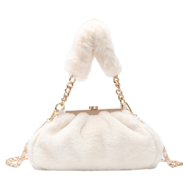 Faux Fur Cluth Bag 6