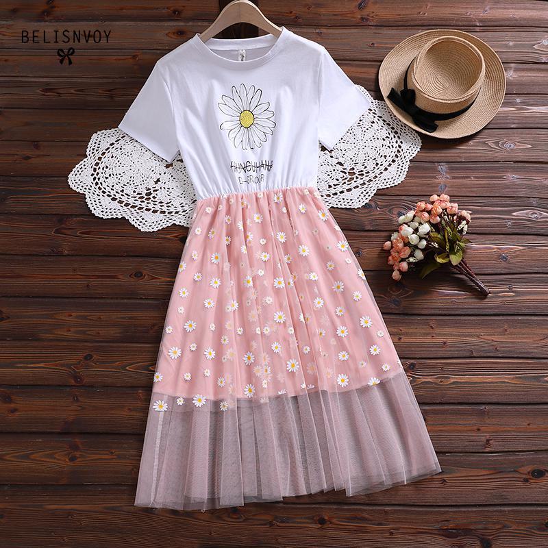 Summer Daisies Dress