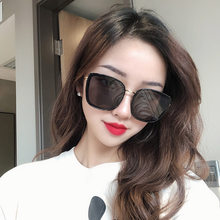 Vintage Sunglasses Women Men Metal Large Square Frame Eye Glasses Decor Eyewear Clear Lens One Piece Shade Mirror(China)