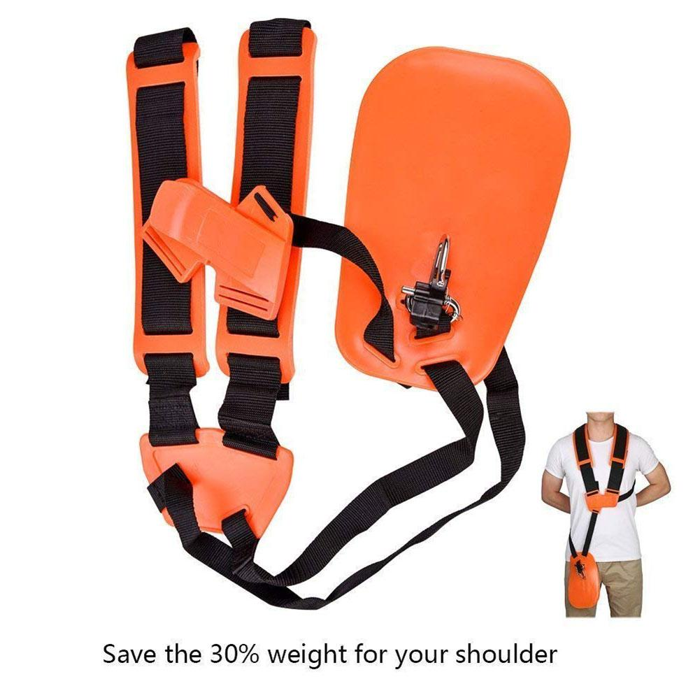 Double Shoulder Strap Trimmer With Durable Nylon Strap For Shrub Cutters Or Garden Mowers For STIHL/FS/km Series Trimmers