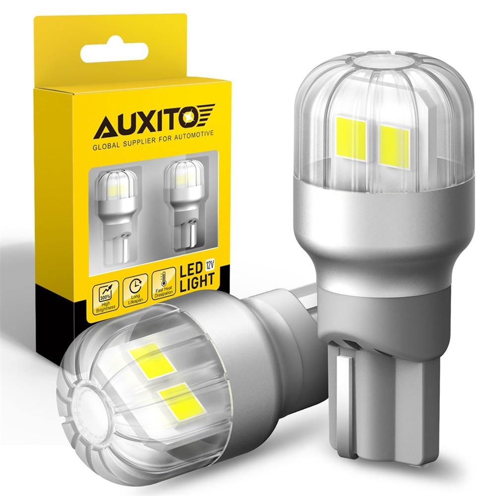 AUXITO 2 uds 1500LM T15 W16W bombilla LED Canbus 1156 Ba15s LED 3030-SMD Luz de marcha atrás de respaldo de coche para Audi A3 A4 A6 A8 B6 B8 B5 6000K
