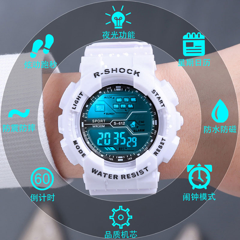Kids Watches Multi-function Lights Children's Watches with Luminous Electronic Children Watch Waterproof Electronic