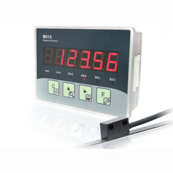 Transdutores de posição do sensor de escala de deslocamento digital linear óptico magnético cnc codificador carpintaria máquina torno lcd dro