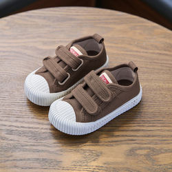 Kids Canvas Shoes Autumn New Boys Sneakers Fashion Breathable Girls Sport Shoes Non-slip Children little Girl Shoes  SCW006