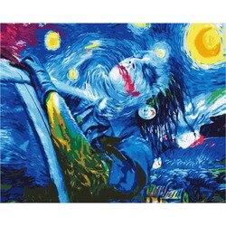 Malerei durch zahlen PK 38007 freies Joker 40*50