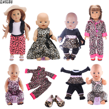 Doll Clothes Leopard Series Dating Dress Skirt Suit Shoes Fo