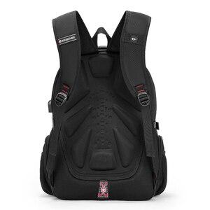 Image 4 - 2020 Waterproof 17 Inch Laptop Backpack Men USB Charging Travel Backpack Women Oxford Rucksack Male Vintage School Bag mochila
