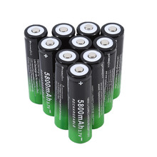 2018 High Quality 10Pcs Practical Rechargeable 18650 Batteries 5800mAh 3.7V Durable