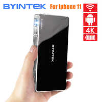 2020 latest BYINTEK P10 Smart Android Projector,Wifi Mini Pocket Portable HD LED Projector For Home Theater 1080P MAX 4K
