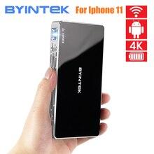 Карманный светодиодный проектор BYINTEK P10, Smart Android, Wi Fi, Full HD, 2020 P MAX 4K