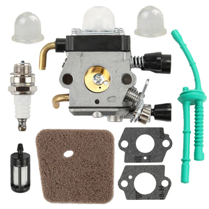 1 Set of Carburetor Kit replacement accessory part suitable For STIHL FS38 FS45 FS46 FS55 KM55 FS85 Air Fuel Filter Gasket Carb(China)