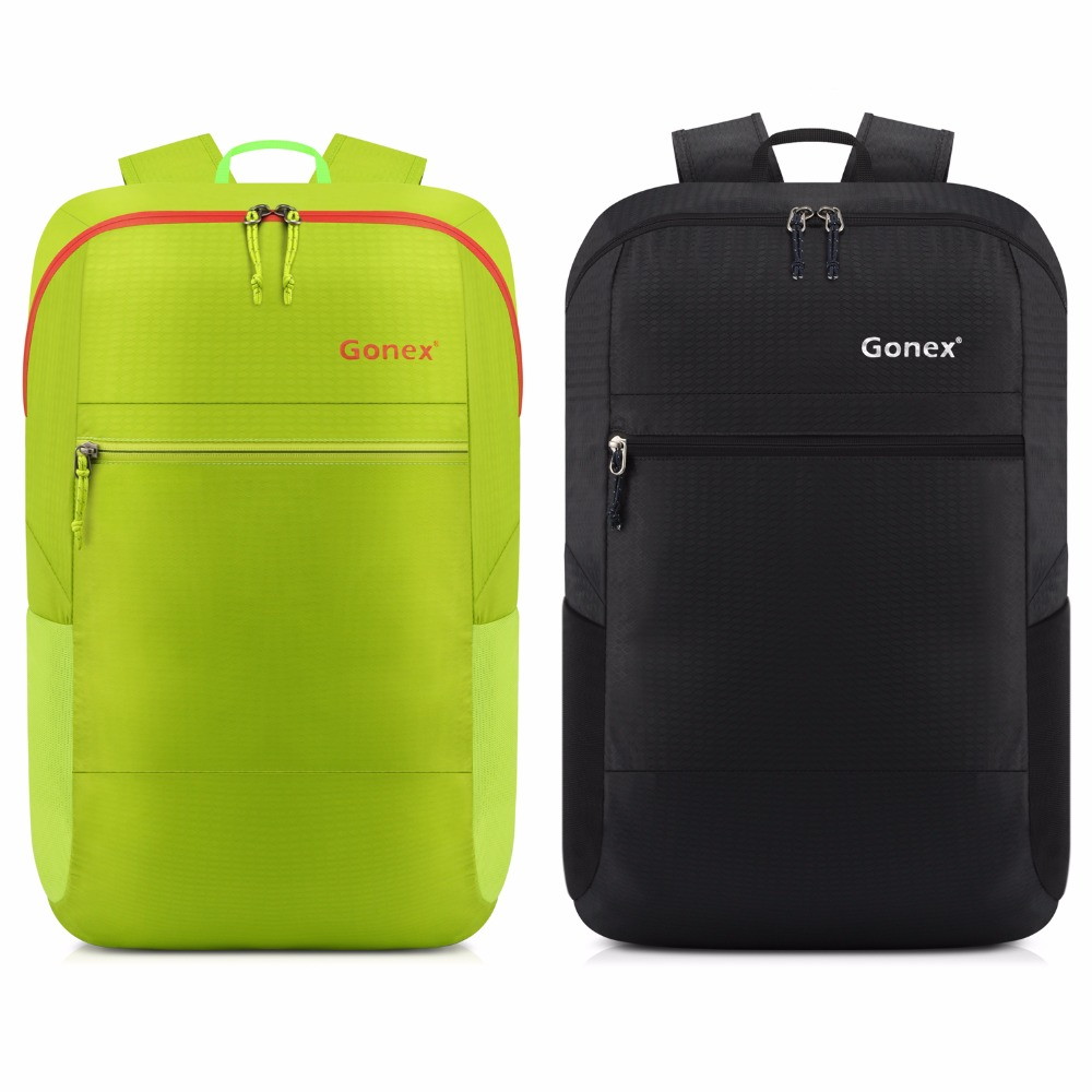 Gonex 30L Ultralight Packable Backpack Casual Nylon Foldable Shoulders Bag For Outdoor Travel Camping School Shopping