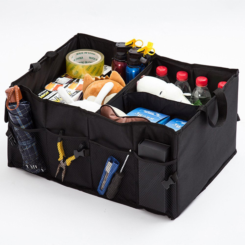 New Folding Car Back-Up Storage Box Trunk Bag Container Vehicles Toolbox Multifunctional Organizer Styling Auto Accessories