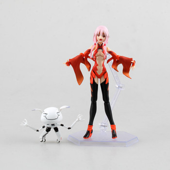 Anime Guilty Crown Yuzuriha Inori Figma 143 PVC Action Figure Collectible Model Toy 15cm NS5 dota 2 variant action figure figma sp 070 windranger variable doll pvc action figure collectible model toy 14cm kt3545