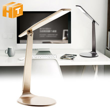 LED Desk Lamp Touch Dimming 4000K No Flicker Eye-Protection Reading Light Bedroom Bedside Lighting.