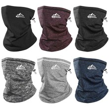 1Pc Winter Warmer Face Bandana Scarf Sports Thermal Skiing Tube Neck Gaiter Cover Thick For Hiking Cycling Snowboard Men Women