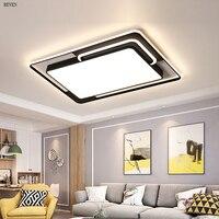 Criativo led luzes luzes de teto para sala de estar bed room home iluminação led lâmpada do teto luminárias REVEN