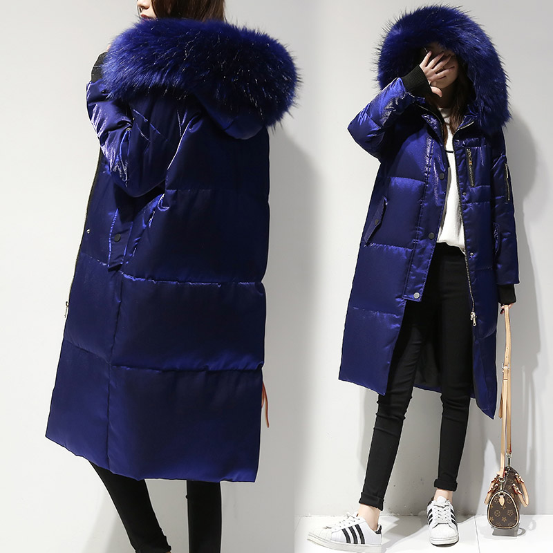 New women's   down   jacket   coat   2019 winter   down     coat   women   down   jacket long casual   coat   female jacket outerwear