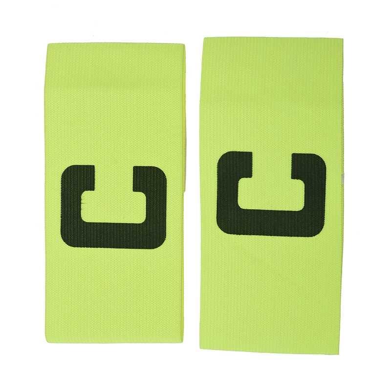 2x Elastic C Prints Football Soccer Player Captain Armband Green
