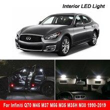 مصباح LED داخلي للسيارة Canbus ، مصباح قراءة على شكل قبة لسيارة إنفينيتي Q70 M45 M37 M56 M35 M35H M30 1990 2019
