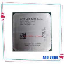 AMD A10 Series A10 7860 K A10 7860 K 3.6 GHz 쿼드 코어 CPU 프로세서 AD786KYBI44JC 소켓 FM2 +