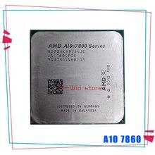 AMD A10 Series A10 7860 K A10 7860 K 3.6 GHz رباعية النواة معالج وحدة المعالجة المركزية AD786KYBI44JC المقبس FM2 +