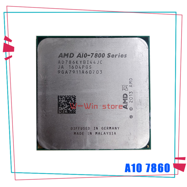 AMD A10 Series A10 7860K A10 7860 K 3.6 GHz Quad Core CPU Processor AD786KYBI44JC Socket FM2+