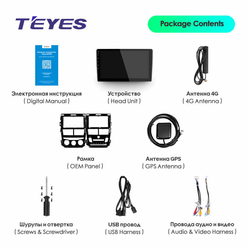 Teyes Spro Voor Toyota Yaris Vios 2017 2018 2019 2020 Auto Radio Multimedia Video Player Navigatie Gps Android 8.1 Geen 2din