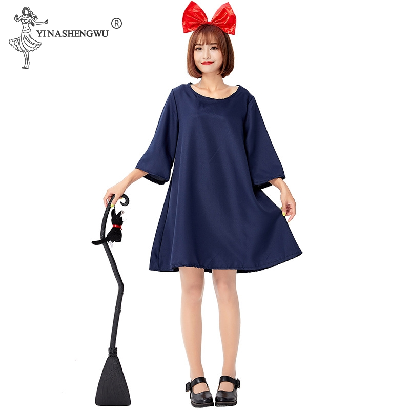 Kiki's Delivery Service Kiki Exported To Japan Cosplay Costumes For Adults Minimalist Japanese Witch Little Witch Clothes