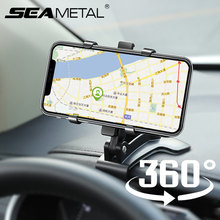 Soporte Universal de teléfono para coche, soporte para teléfono móvil, espejo retrovisor, deflector, montura para teléfono móvil, accesorios para coche