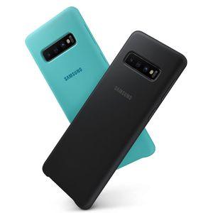 Image 4 - 삼성 원래 실리콘 케이스 전화 커버 갤럭시 S10 S10X S10Plus SM G9750 S10 X S10E SM G970F G970U G970N 충격 방지 커버