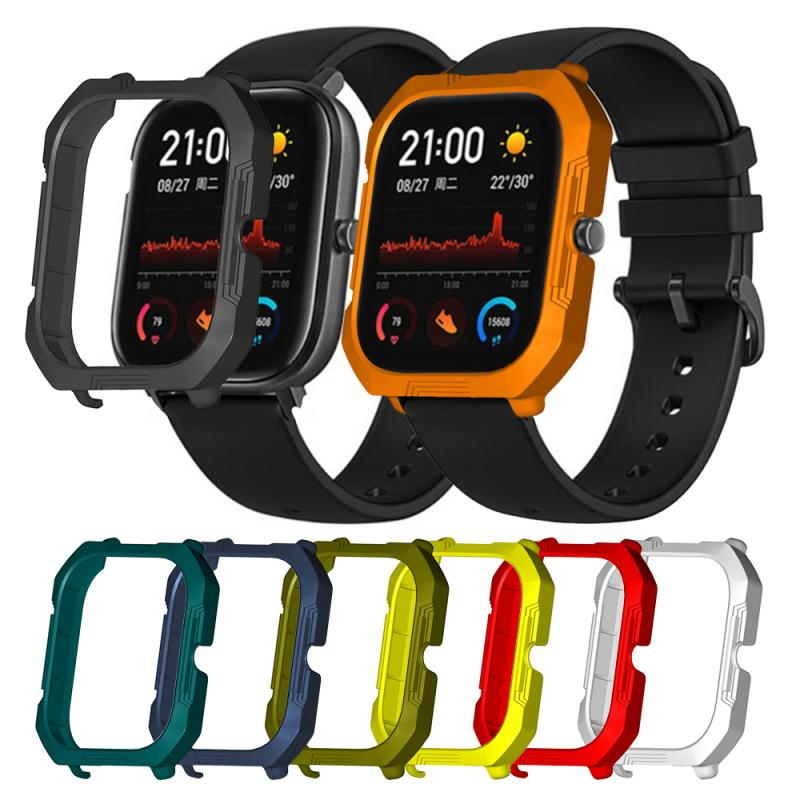 Protective Case Cover Screen Hard PC Protector For Watch Band Shell Protector Accessories For AMazfit GTS Smart Watch