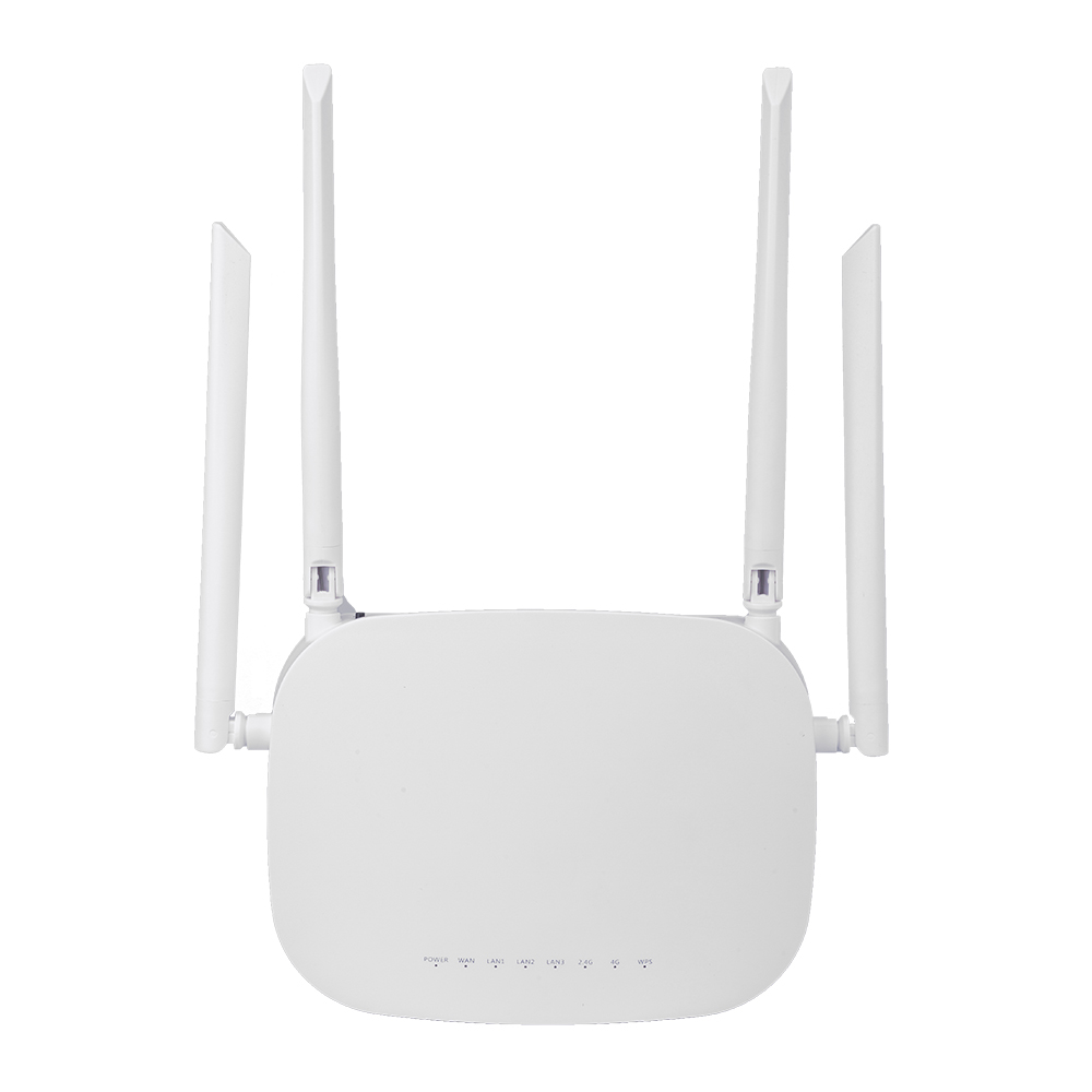 CPE 4G LTE Smart WiFi Wireless Router with 300Mbps Speed and SIM Card Router along With 4pcs External Antennas and Qualcomm Chip 11