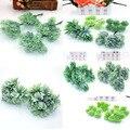 6 искусственных растений, трава, свадебный венок, рождественские аксессуары для украшения дома, искусственные цветы