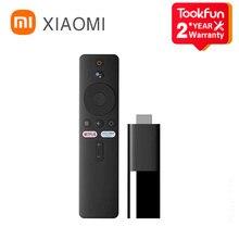 Глобальная версия Xiaomi Mi TV Stick 1080P HD 1 ГБ ОЗУ 8 Гб ПЗУ Android 9,0 DTS Dolby Wifi смарт-Netflix YouTube Google Assistant