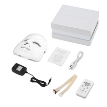 7 Colors Beauty Therapy Photon LED Facial Mask Light Skin Care Rejuvenation Wrinkle Acne Removal Face Beauty Spa Instrument heating light machine for face messager acne spot skin rejuvenation light photon led therapy bacteria killing removal improve