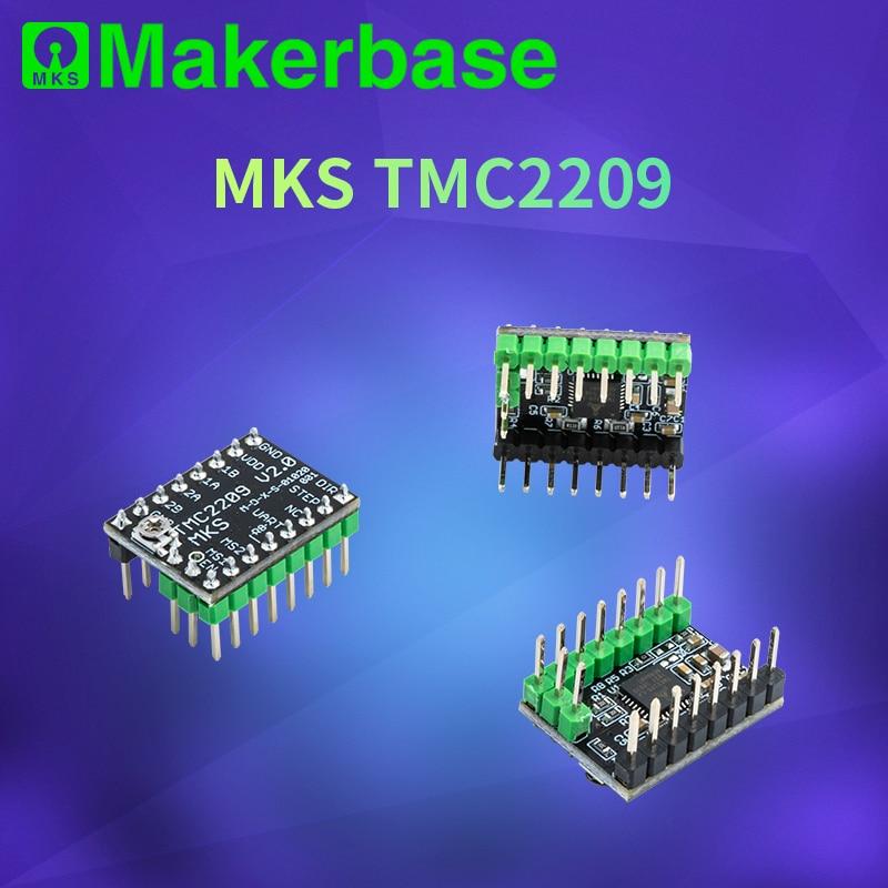 tmc2209 driver de motor deslizante para bigtreetech skr v1 3 mks gen l tmc 2209 motor