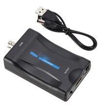 Bnc para hdmi-conversor compatível 1080p/720p exibição conversor de vídeo monitor de vigilância tv conversor de sinal com cabo