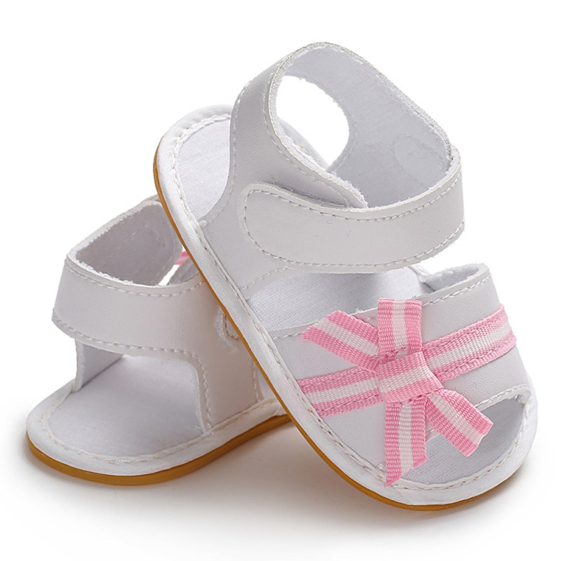Summer Baby Girl Sandals Casual Rubber Sandals For Baby Girls PU Children Shoes