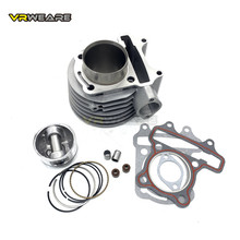 GY6 125 cylinder Kit 52.4mm Cylinder Piston Ring Set for 4 stroke air cooling Scooter Moped ATV QUAD GY6125 152QMI 1P52QMI goofit piston ring set for gy6 80cc atv go kart moped