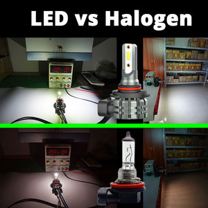 Image 5 - VANSSI 2Pcs H8 H11 LED ערפל נורות H16 H10 9145 HB3 9005 HB4 9006 LED ערפל מנורת סופר בהיר 4000lm CSP שבבים, לבן 6000K