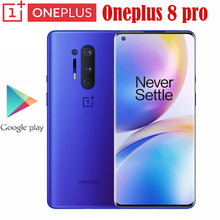 Oneplus 8 Pro 5G Smartphone Snapdragon 865 8G 128G 6.87 ''120Hz sıvı ekran 48MP dört 513PPI 30W kablosuz şarj küresel Rom