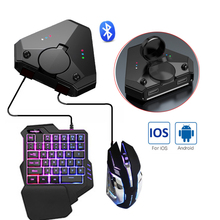 PUBG Mobile Gamepad Controller Gaming Bluetooth Keyboard Mouse Converter Adapter