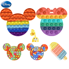 Toy Fidget-Toys Mouse Bubble Disney Mickey Anti-Stress Adult Gifts Sensory Funny Reliever