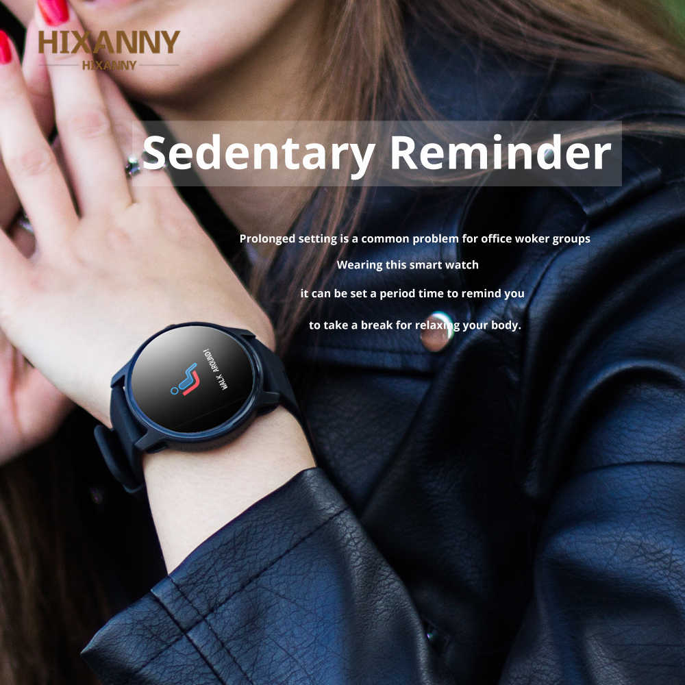 El mejor reloj inteligente S08 para hombre, podómetro deportivo, IP68, resistente al agua, Monitor de ritmo cardíaco, reloj inteligente para mujer, PK Q8 Q1 H1
