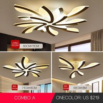 Luces de techo LED Diente de león Lámpara de techo interior Moderna Simple Sala de estar posmoderna Dormitorio Comedor Sala de estudio 1