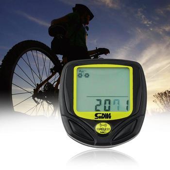 SunDing 548C1/548C Wireless Bike Computer Waterproof Bicycle Odometer Speedometer LCD Cycling Computer Stopwatch цена 2017